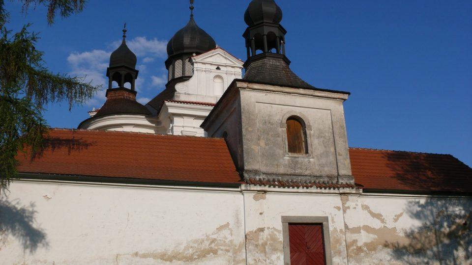 Barokní poutní kostel Svaté Trojice