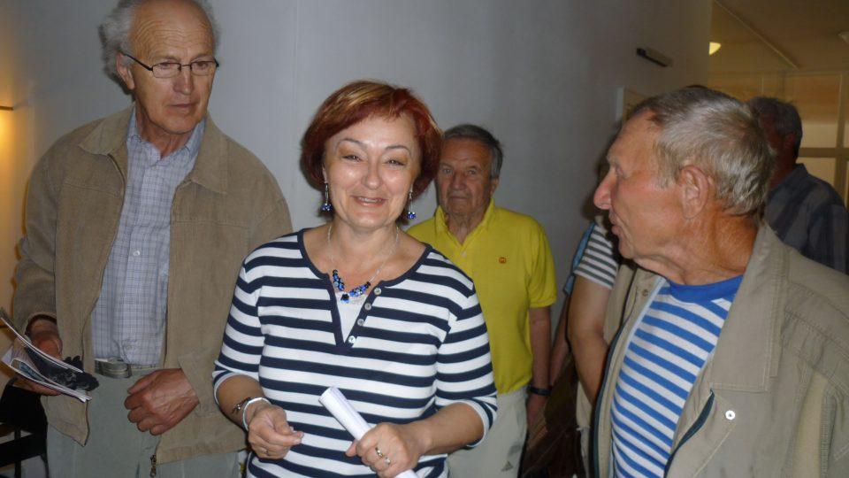 Jednou z průvodkyň byla i vedoucí producentského centra Irena Halová