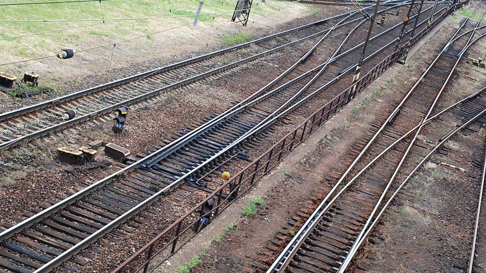 Osiřelé koleje na pardubickém nádraží