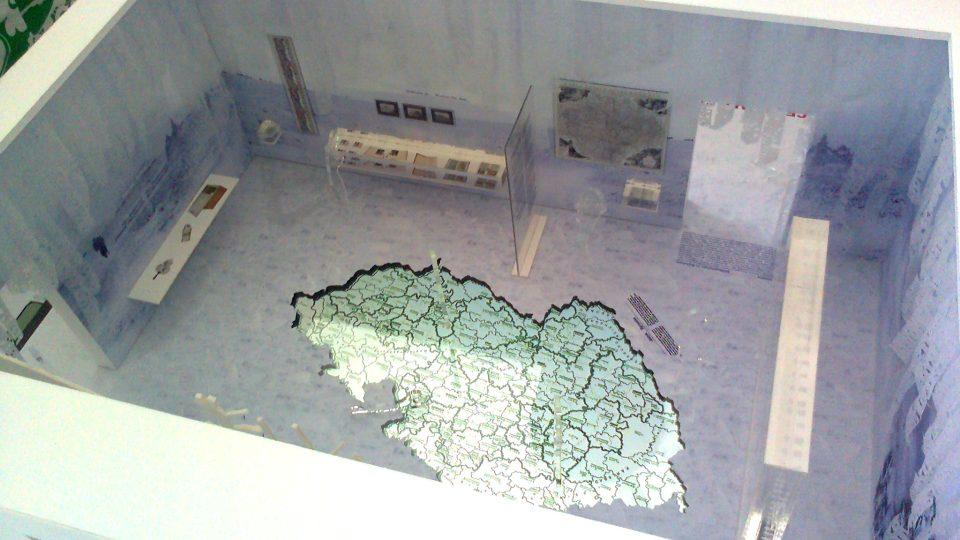 Collegium Bohemicum - model expozice atelieru SGL, třetí místo