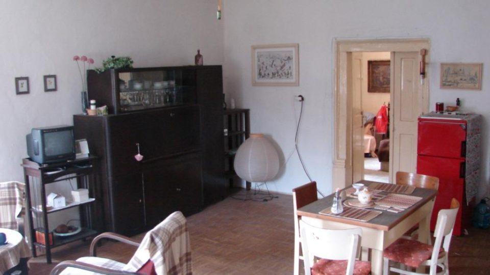 Semínský zámek s pivovarem - interiér obytné části