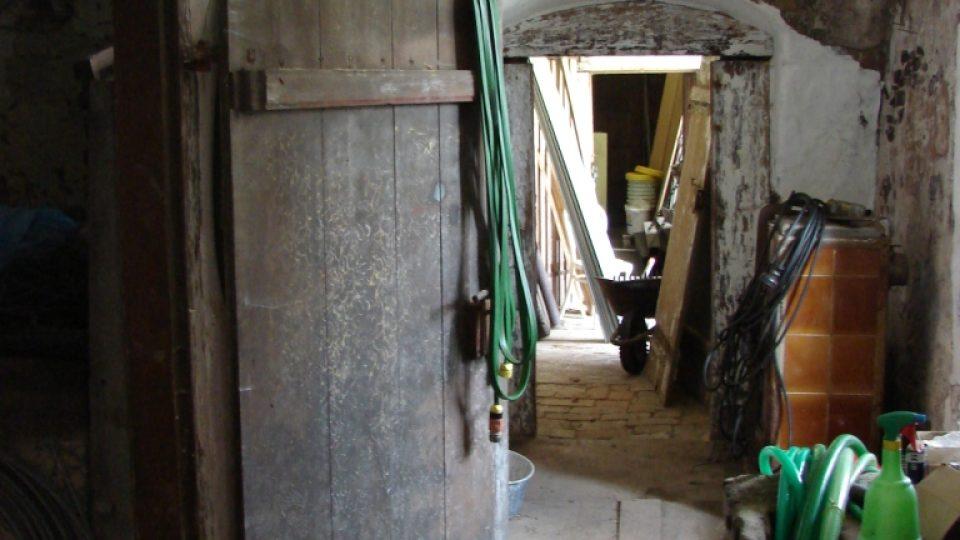 Semínský zámek s pivovarem - pohled do pivovarské části