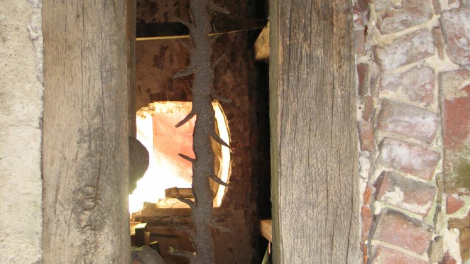 Semínský zámek s pivovarem - detail okna