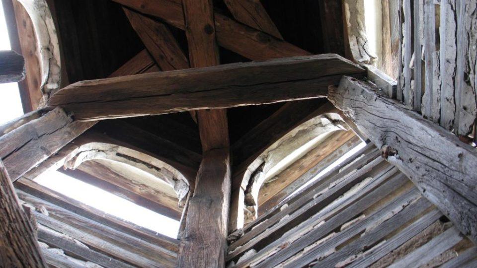 Semínský zámek s pivovarem - pohled do zvoničky