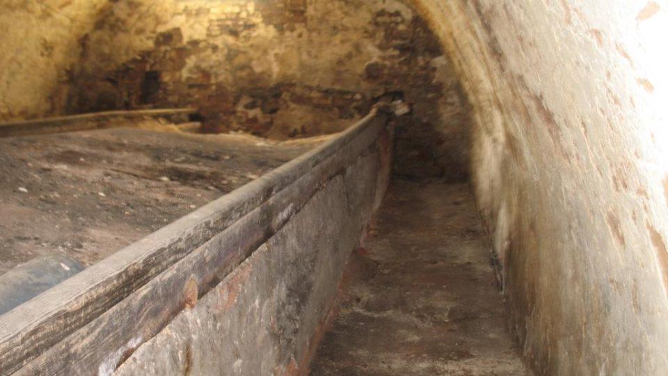 Semínský zámek s pivovarem - unikátní hvozdový valach