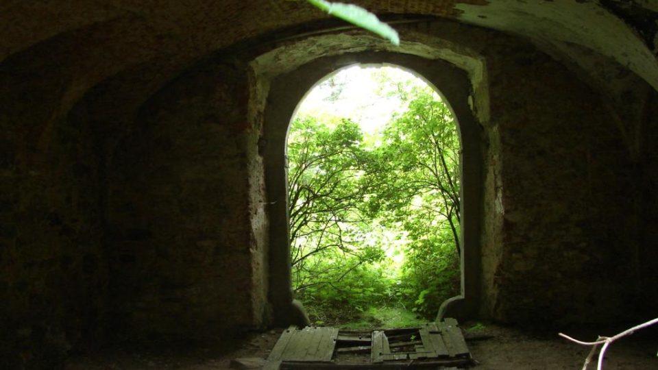 Zámeček Lipka - vstupní místnost