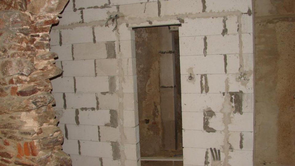 Zámeček Lipka - novodobá část: koupelna se záchodem