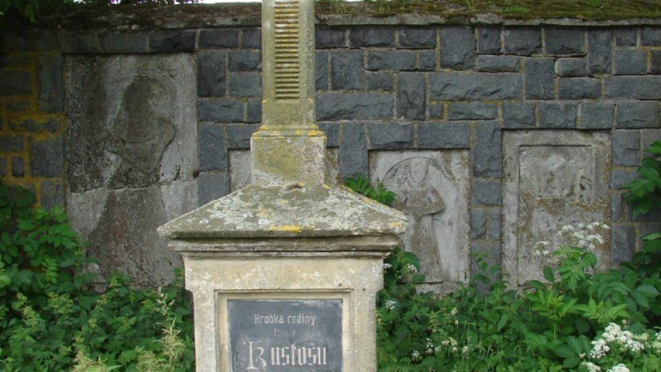 Zámeček Lipka - hrobka rodu Kustošů