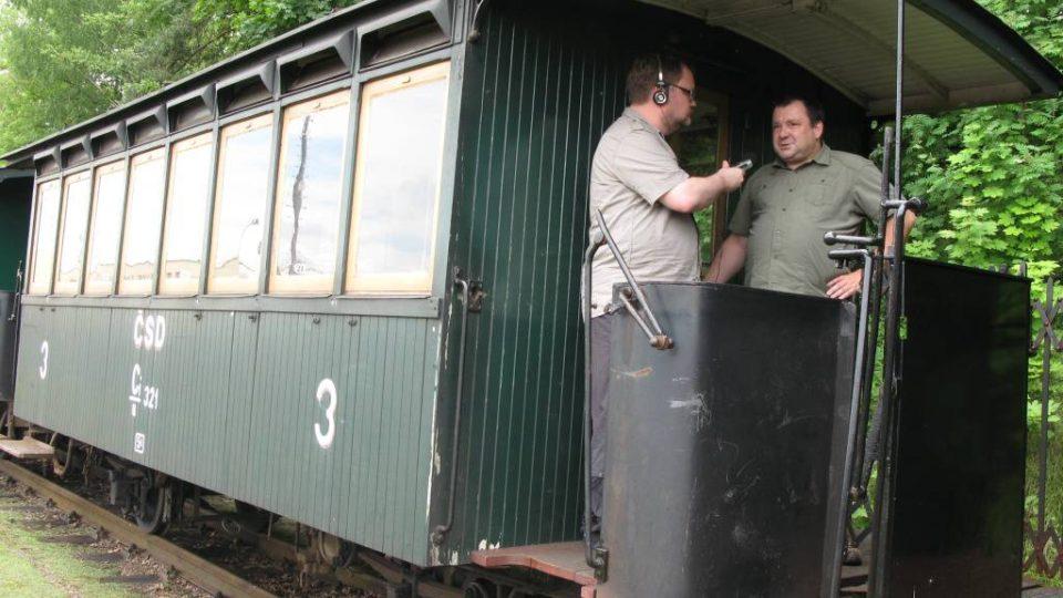 Den druhý - Historický vagón Jindřichohradecké místní dráhy