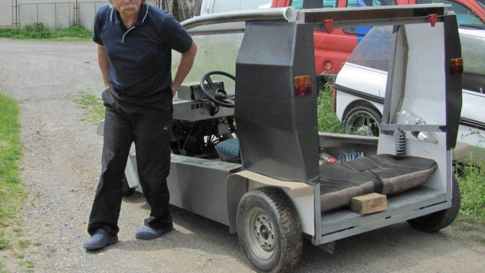 Den první - Vlastnoručně vyrobený elektromobil
