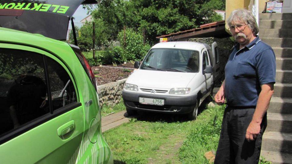 Den první - Jaromír Vegr, předseda o.s. Elektromobily
