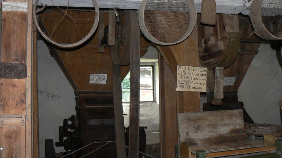 Vybavení mlýna