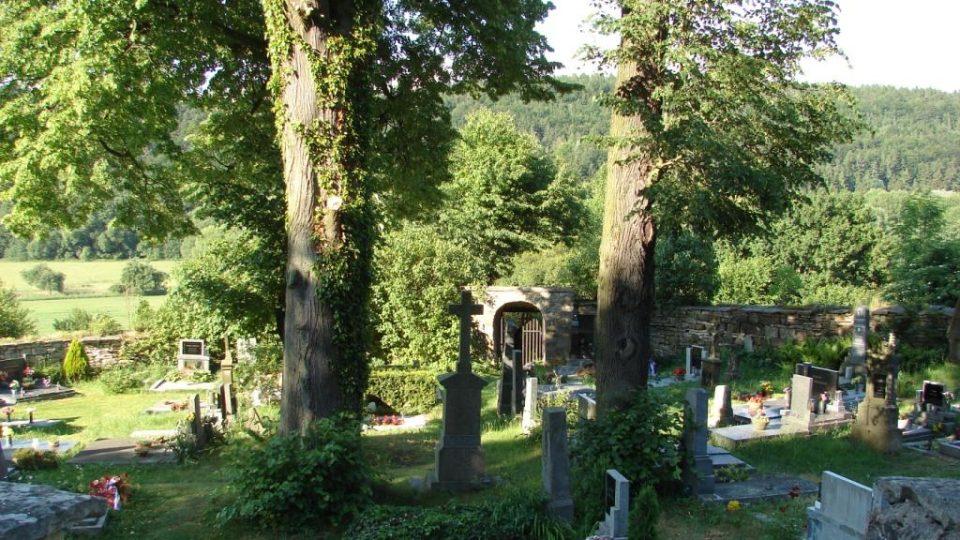 Kostel Zvěstování Panny Marie v Janovičkách - zde stával původní kostel