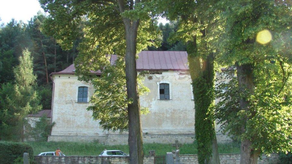 Kostel Zvěstování Panny Marie v Janovičkách