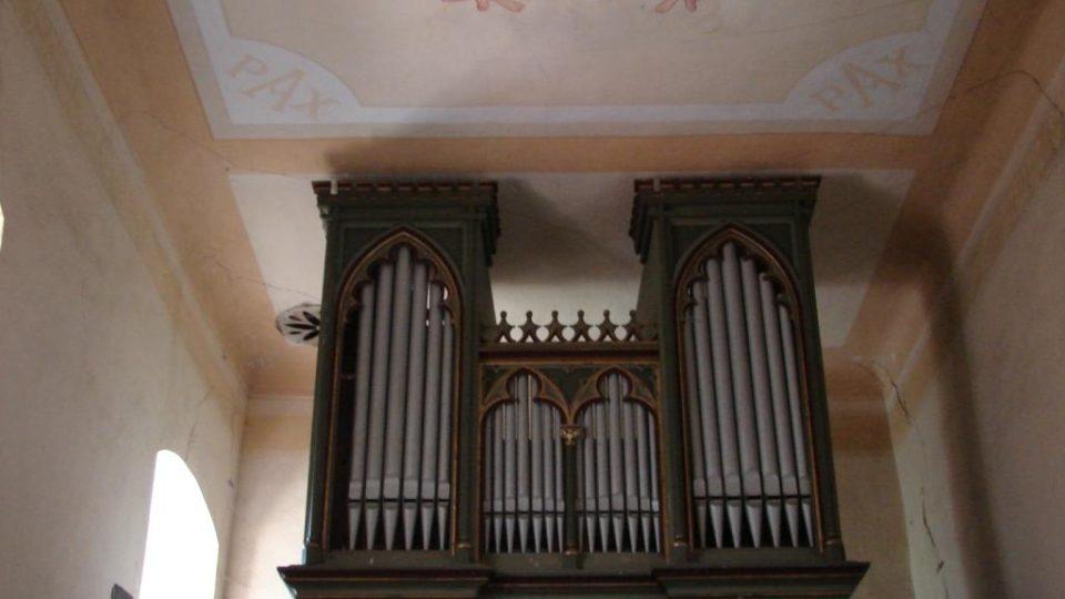 Kostel Svatého Martina - varhany