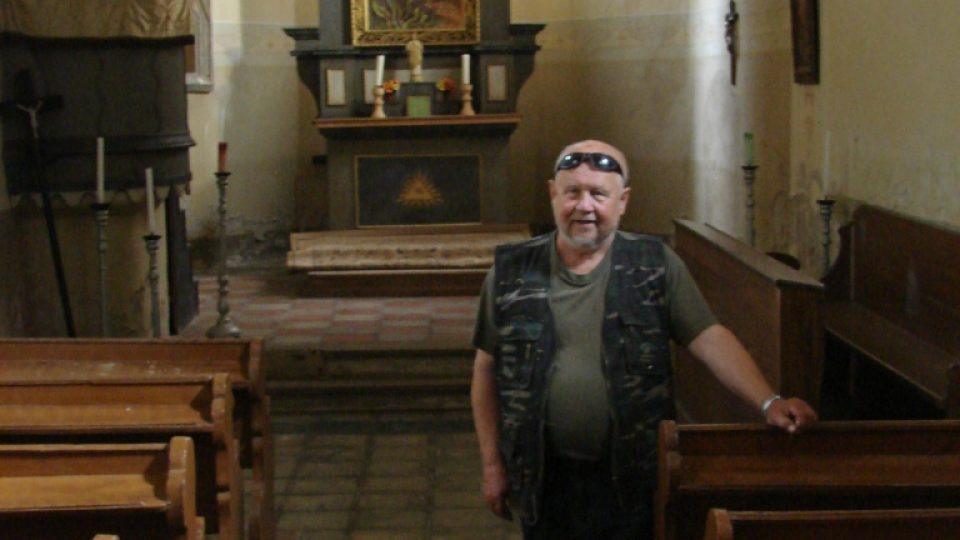 Kostel Svatého Martina a jeho zachránce Zdeněk Zeman