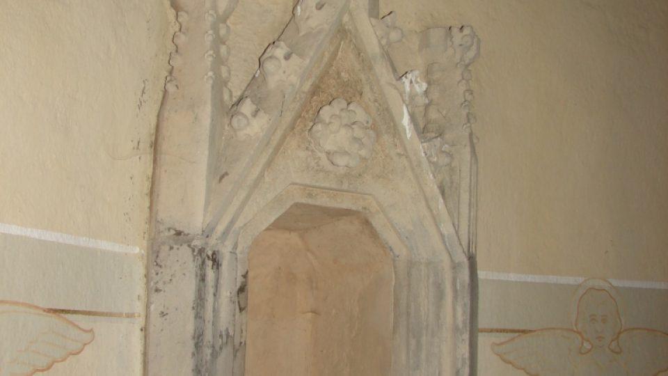 Kostel Svatého Martina - gotický sanktuář