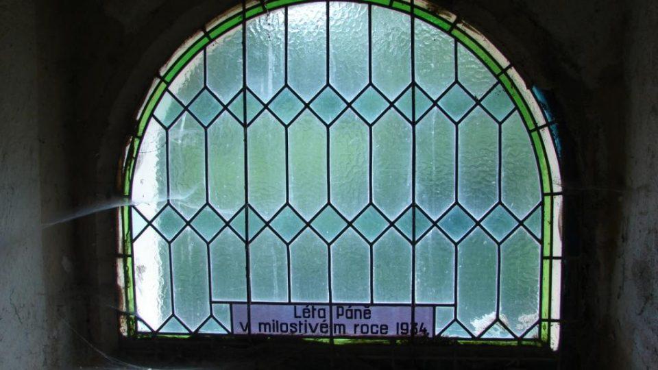 Kostel Svatého Martina - detail okna