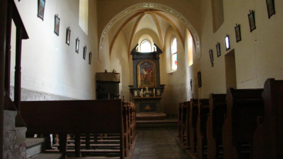 Kostel Svatého Martina - interiér