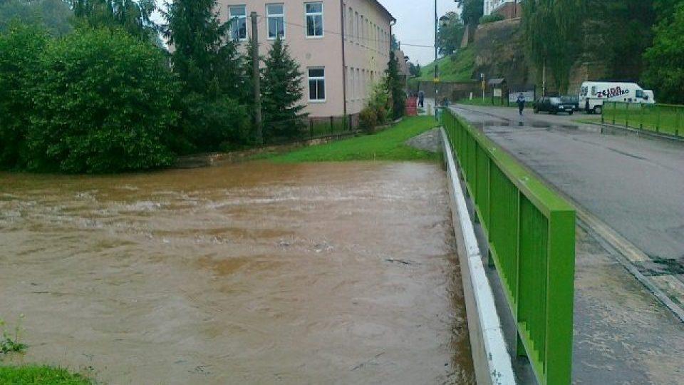 Voda v Podbřezí - okr. Rychnov nad Kněžnou