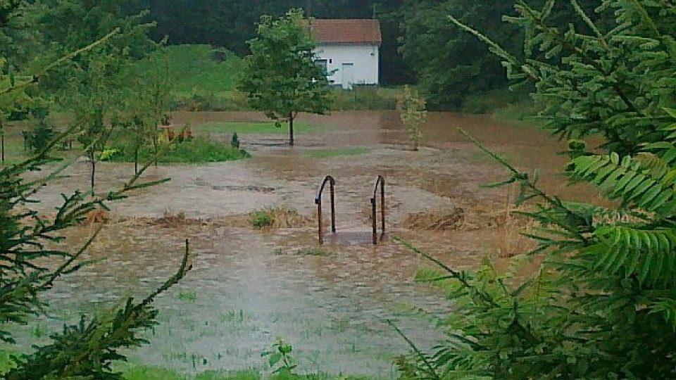 Velká voda v Královéhradeckém kraji