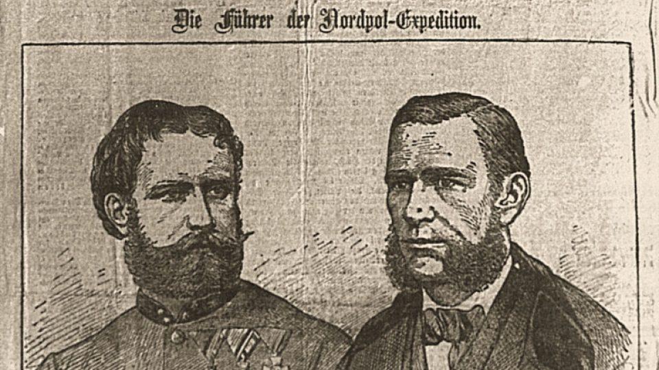 Wiener Extrablatt 25. září 1874 - Zpráva o výpravě Carla Weyprechta a Julia Payera