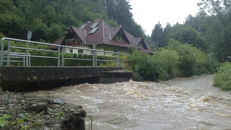 Velká voda v našem regionu