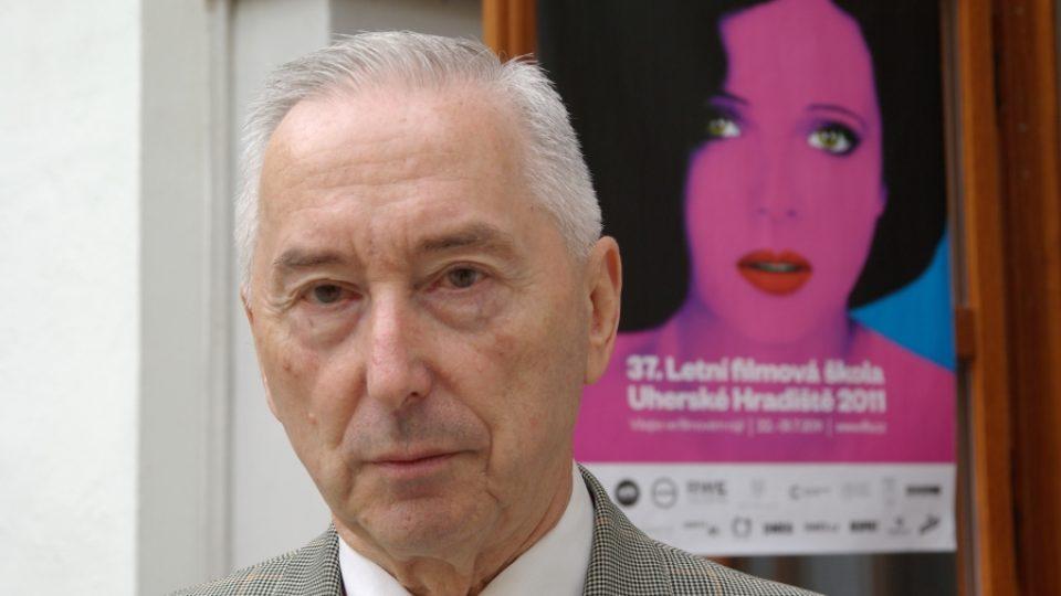 Ředitel Národního filmového archivu Vladimír Opěla