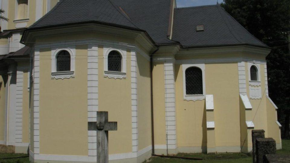 Kostel sv. Petra a Pavla v Biskupicích u Jevíčka