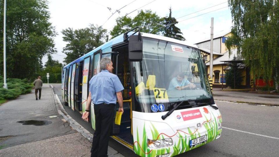 Elektrobus v Hradci Králové