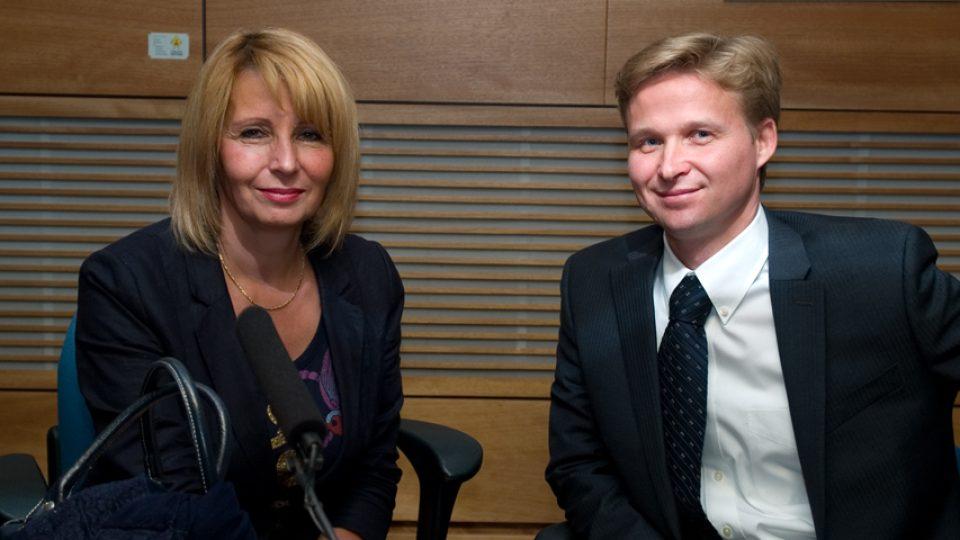 Stanislava Lekešová a Andrej Sukop