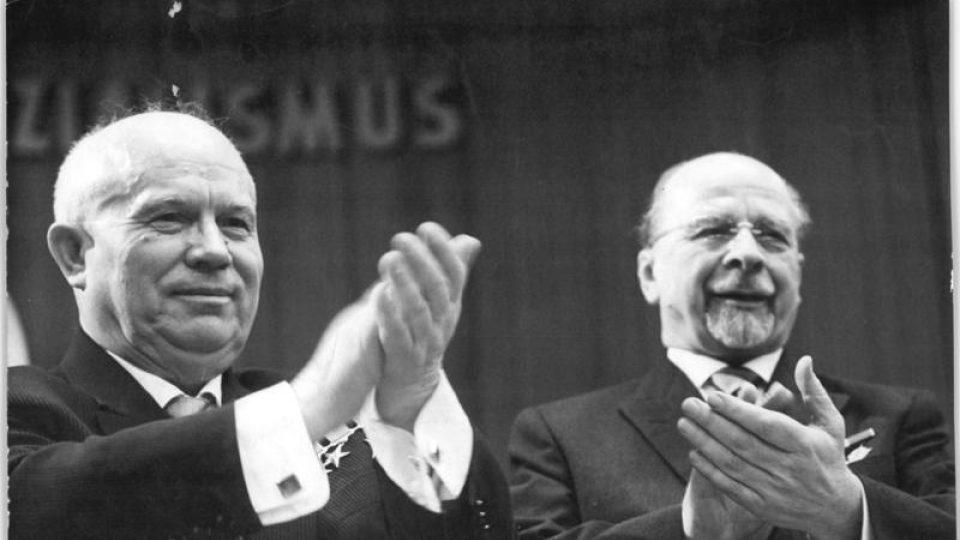 (Zprava) Walter Ulbricht s Nikitou Chruščovem