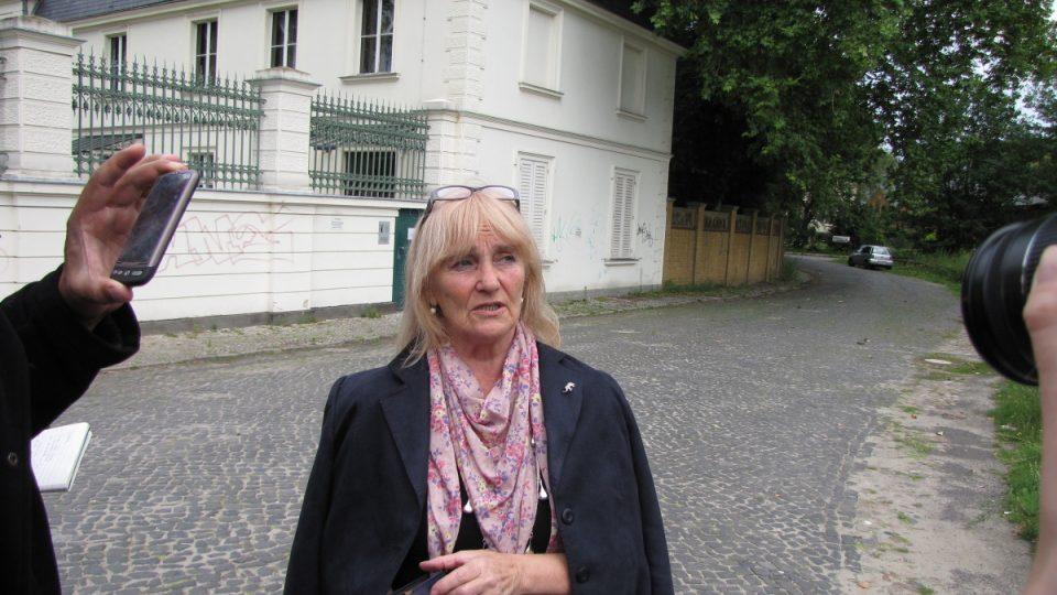 Gitta Heinrichová se v 80. letech z Klein-Glienicke odstěhovala