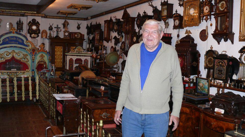 Karel Irmiš, majitel sbírky