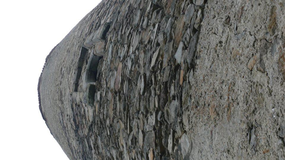 Vyhlídková věž zříceniny hradu Šelmberk u Mladé Vožice