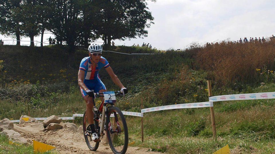 Jaroslav Kulhavý na olympijské trati
