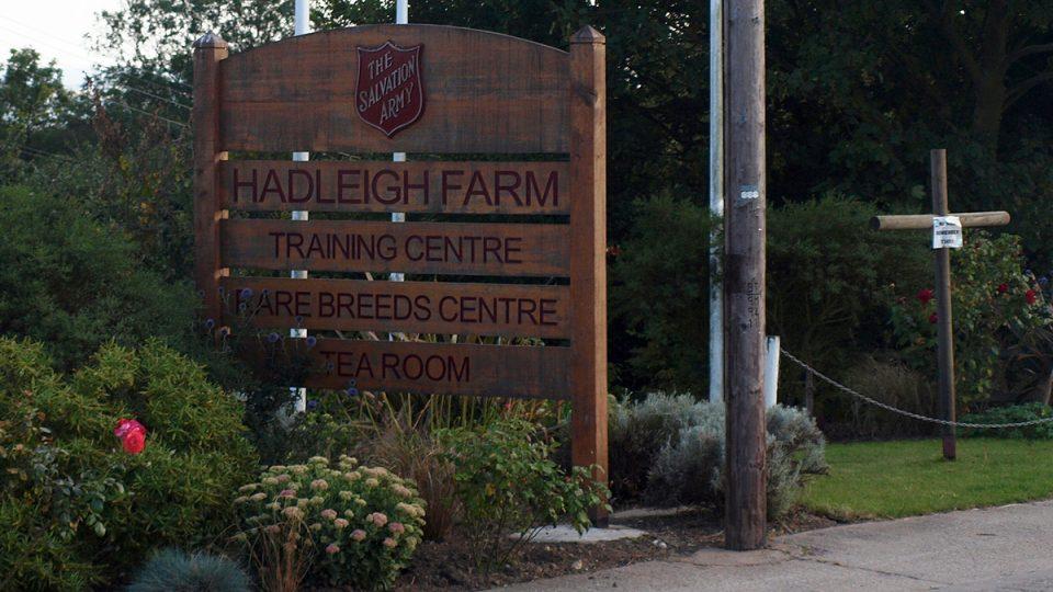Vítejte na farmě Hadleigh v Essexu