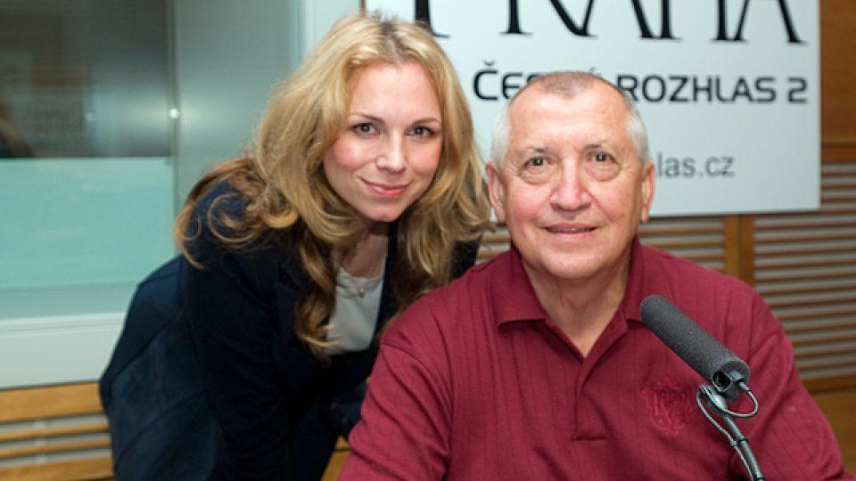 Martina Kociánová a Karel Sedláček