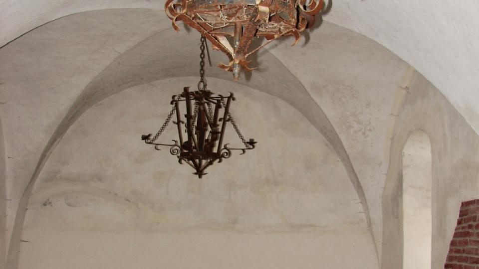 Zámek Vranová Lhota - přízemí západního křídla