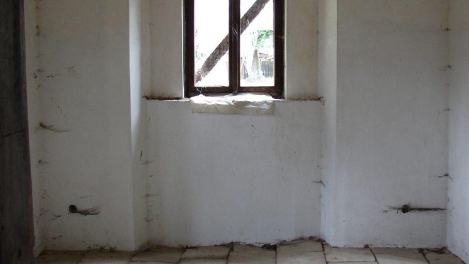 Zámek Vranová Lhota - obytné prostory v přízemí