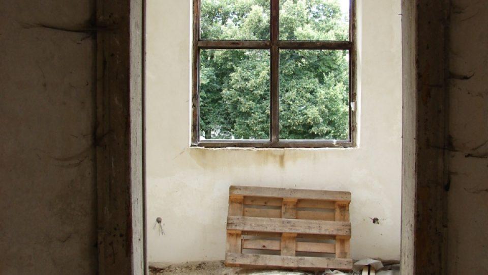 Zámek Vranová Lhota - prostor bývalé ? kaple
