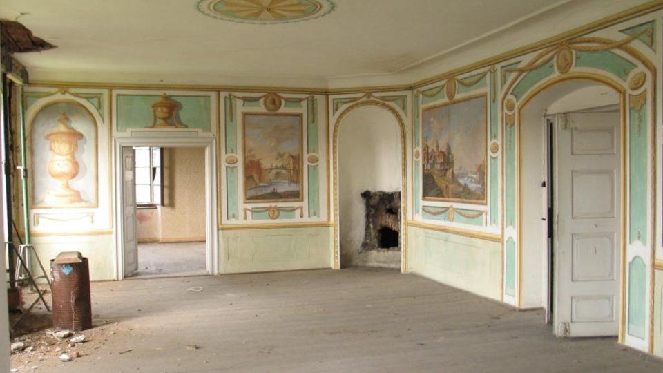 Fara ve Svinčanech - slavnostní sál