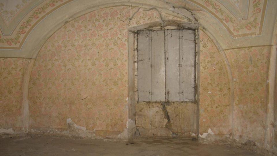 Fara ve Svinčanech - místnost v přízemí