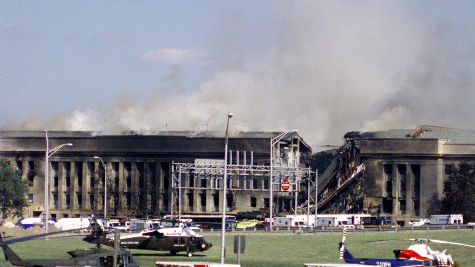 Pentagon, 11. září 2001
