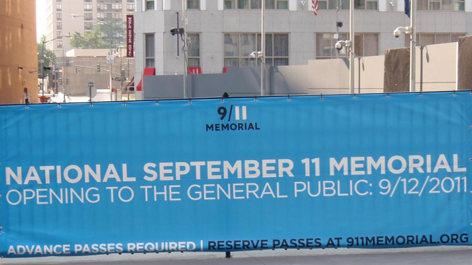 K 10. výročí útoků z 11. září 2001 bude na Manhattanu otevřen památník