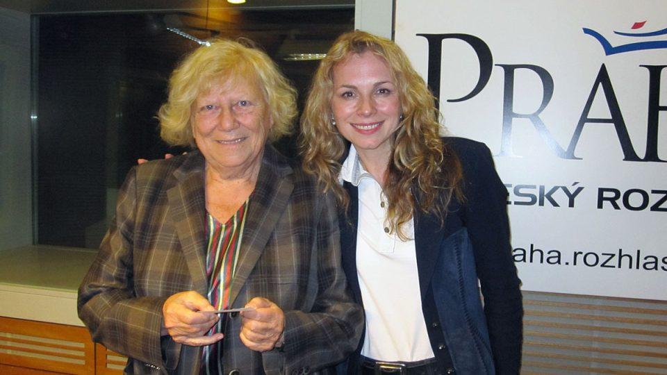 Alena Šrámková a Martina Kociánová
