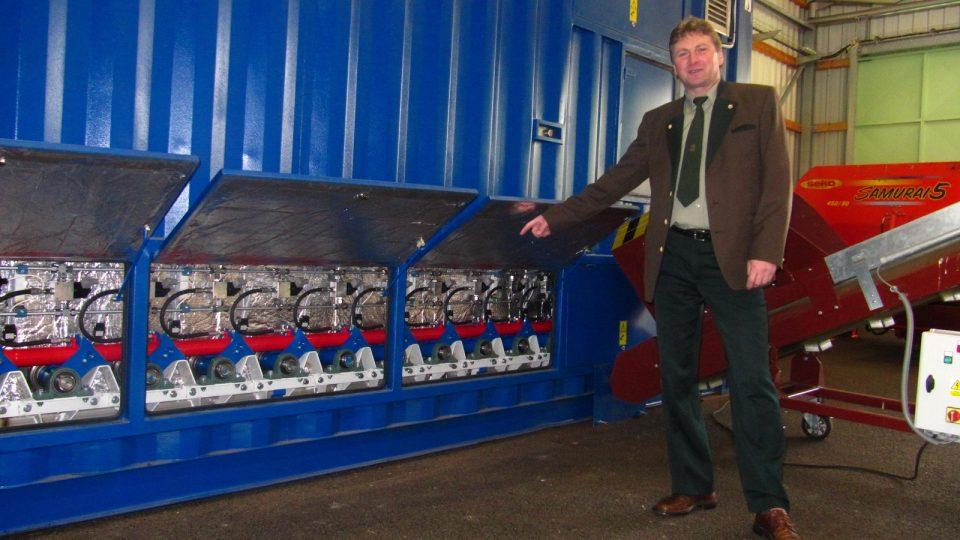 O odpad ze zeleně ve Vimperku se postará nová kompostárna