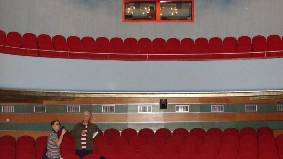 Divadlo Karla Pippicha v Chrudimi - pohled do hlediště