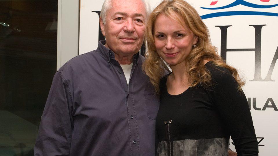 Libor Pešek a Martina Kociánová