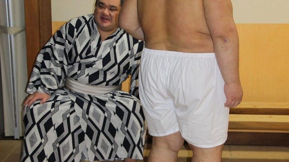 Cesta k úspěchu v sumó není jednoduchá
